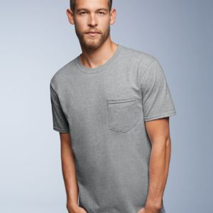 Midweight Short Sleeve T-Shirt With a Pocket Thumbnail