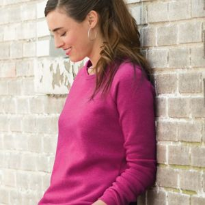 Women's Eco-Fleece Dash Pullover Thumbnail