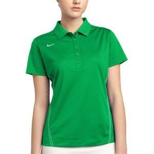 Ladies Dri FIT Sport Swoosh Pique Polo Thumbnail
