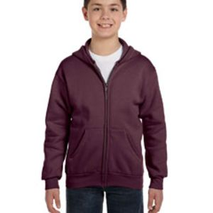 Youth 7.8 oz. EcoSmart® 50/50 Full-Zip Hood Thumbnail