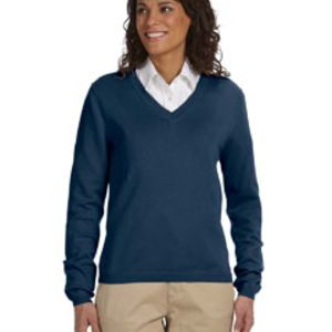 Ladies' V-Neck Sweater Thumbnail