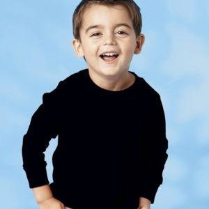 Toddler Long Sleeve Cotton Jersey Tee Thumbnail