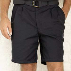Pleated Front Shorts Thumbnail