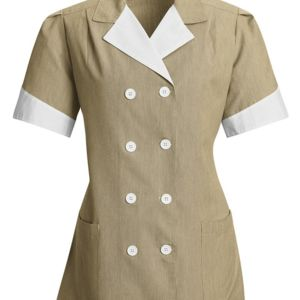 Ladies' Double-Breasted Lapel Tunic Thumbnail
