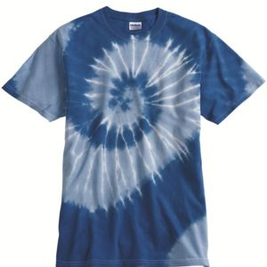 Tone-on-Tone Spiral T-Shirt Thumbnail