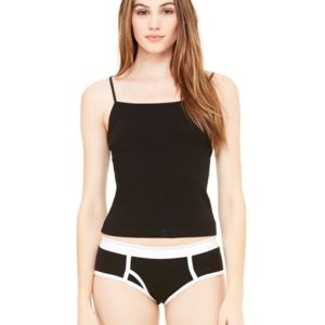 Women's Cotton Spandex Boyfriend Brief Thumbnail