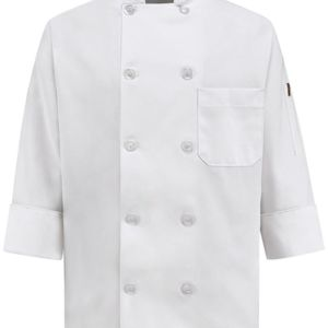 Women's Ten Button Chef Coat Thumbnail