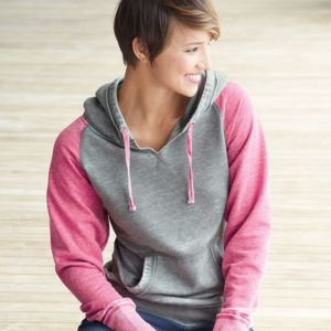 Women's Zen Fleece Raglan Hooded Sweatshirt Thumbnail