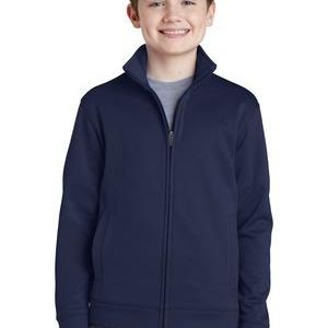 Youth Sport Wick ® Fleece Full Zip Jacket Thumbnail