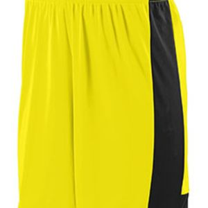 Adult Wicking Polyester Short with Contrast Inserts Thumbnail