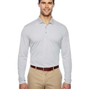 Men's climalite Long-Sleeve Polo Thumbnail