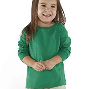 Toddler Long-Sleeve Fine Jersey T-Shirt Thumbnail