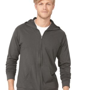 Sueded Zip Hoody Thumbnail