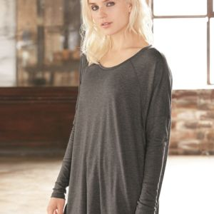 Women's Gauze Ramble Long Sleeve Raglan Tunic Thumbnail