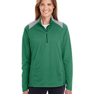 Ladies' Command Colorblock Snag Protection Quarter-Zip Thumbnail