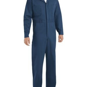 Button-Front Cotton Coverall Additional Sizes Thumbnail