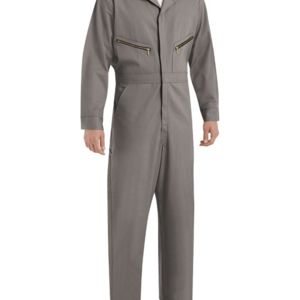 Zip-Front Cotton Coverall Additional Sizes Thumbnail