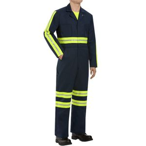 Enhanced Visibility Action Back Coverall - Long Sizes Thumbnail
