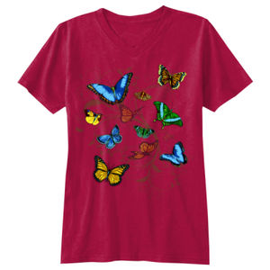 BUTTERFLY COLORFUL FLIGHT - DTG - Z315 Thumbnail