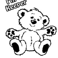 Z418 I m a keeper bear Thumbnail