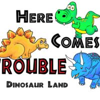 D63 Here comes trouble dino Thumbnail