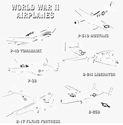 T230 World War II Planes