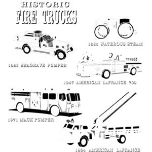 T229 Historic Fire Trucks Thumbnail