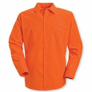 Enhanced Visibility Long Sleeve Work Shirt Thumbnail