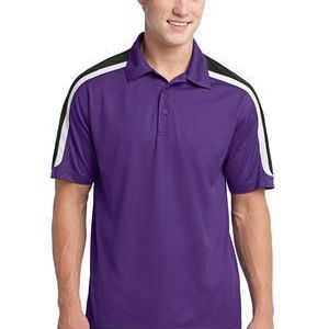 Tricolor Shoulder Micropique Sport Wick ® Polo Thumbnail