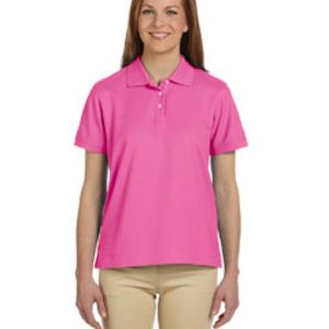 Ladies' Pima Piqué Short-Sleeve Polo Thumbnail