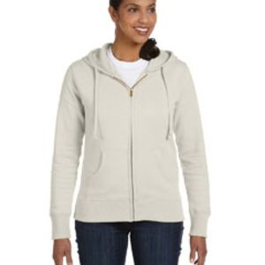 Ladies' 9 oz. Organic/Recycled Full-Zip Hood Thumbnail