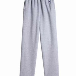 Double Dry Eco Open Bottom Sweatpants with Pockets Thumbnail