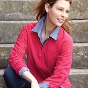 Women's Fusion Quarter-Zip Nano-Fleece Pullover Thumbnail