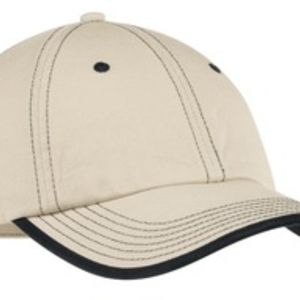 Vintage Washed Contrast Stitch Cap Thumbnail