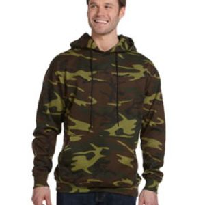 Men's Camo Pullover Hoodie Thumbnail