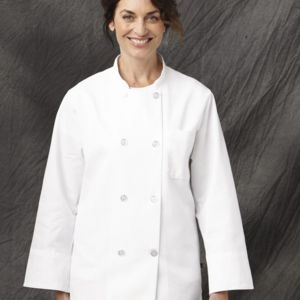 Eight Pearl Button Chef Coat Thumbnail