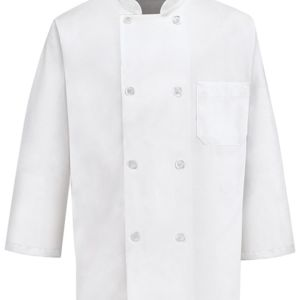 Three-Quarter Sleeve Chef Coat Thumbnail