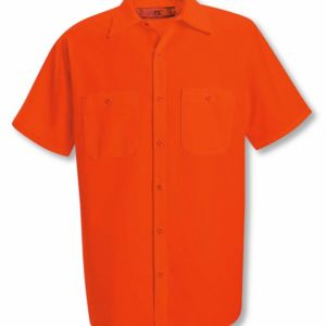 Enhanced Visibility Short Sleeve Work Shirt Thumbnail
