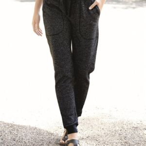 Women's Glitter French Terry Fleece Jogger Thumbnail