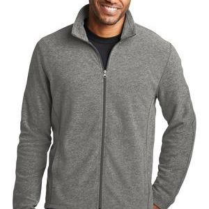 Heather Microfleece Full Zip Jacket Thumbnail