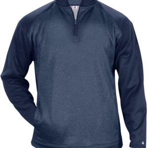 Sport Heather Tonal 1/4 Zip Thumbnail