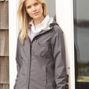 32 Degrees Women's Melange Rain Jacket Thumbnail
