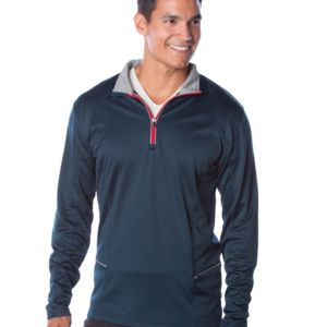 Lightweight Poly-Tech Quarter-Zip Cadet Thumbnail