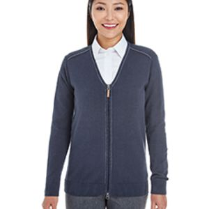 Ladies' Manchester Fully-Fashioned Full-Zip Cardigan Sweater Thumbnail