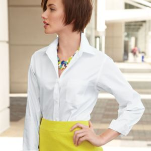 Women's Broadcloth Long Sleeve Shirt Thumbnail
