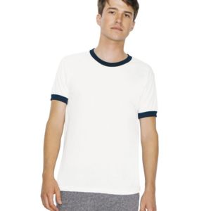 Unisex 50/50 Poly/Cotton Ringer T-Shirt Thumbnail