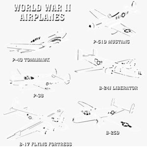 T230 World War II Planes Thumbnail