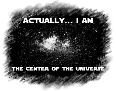 Center of universe