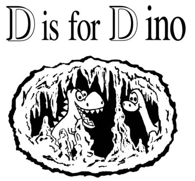 D56 d is for dino