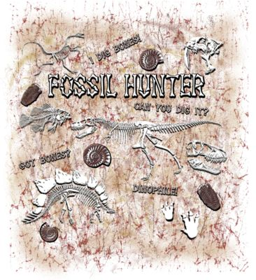 fossil Hunter D21 tote back